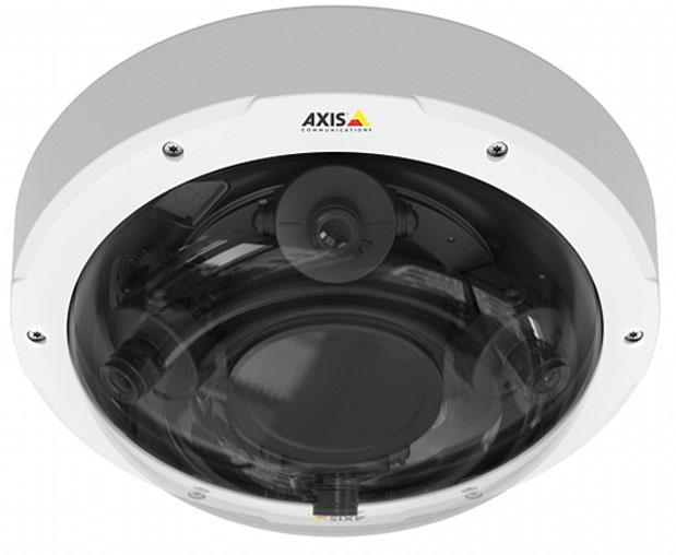 Axis 4-lens camera for ultimate security
