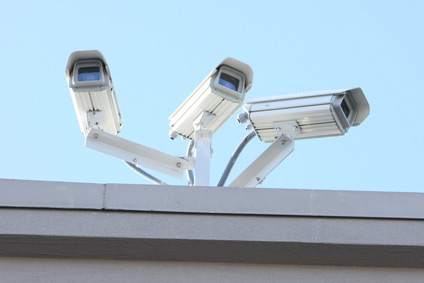 Security camera models of various types.